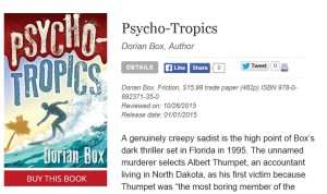Publishers Weekly Review of Psycho-Tropics